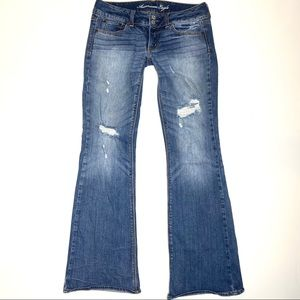 American Eagle AE jeans Artist flare sz 6